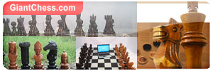 Giant Chess Furniture